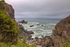 CA-Redwoods National Park-The Pacific Ocean is a spectacular sight along the coast of Northern California.