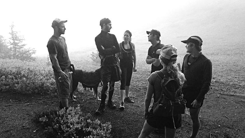 Friends at Hannegan Pass